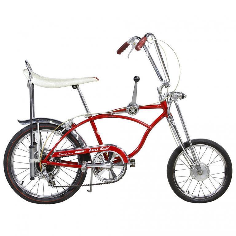 """Schwinn Model C30 String-Ray Red """"Apple Krate"""" Boy's Bike"""