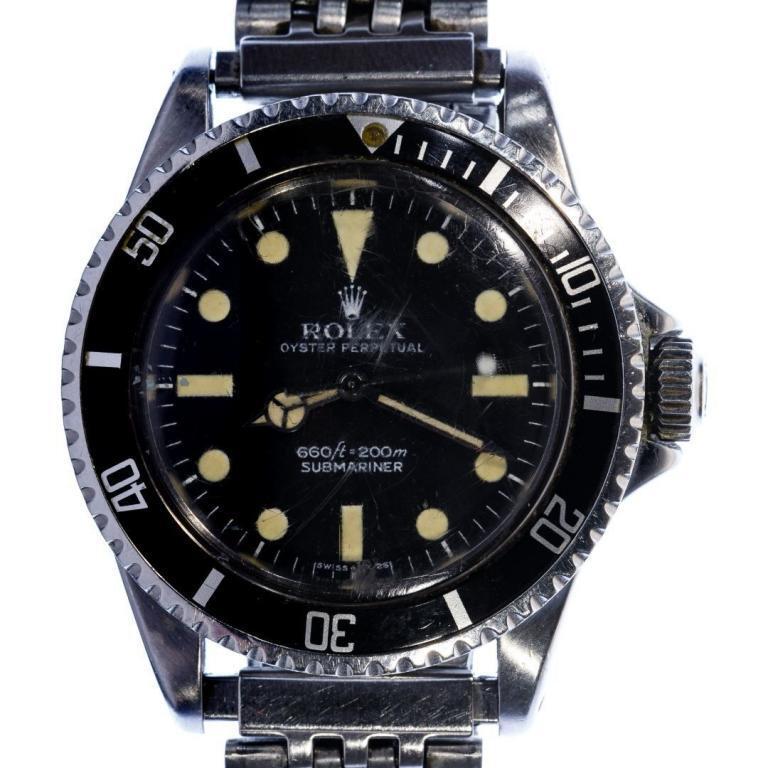 Rolex #5513 Submariner Stainless Steel Watch
