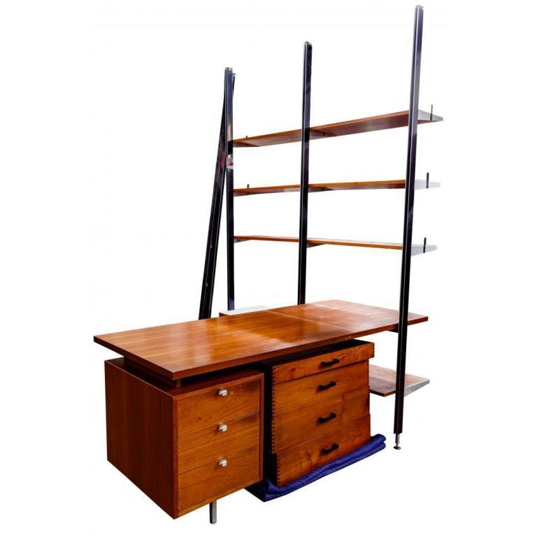 George Nelson for Herman Miller CSS Wall Unit with Desk