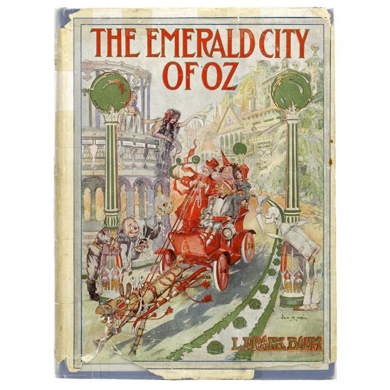 "L. Frank Baum ""The Emerald City of Oz"" Book"