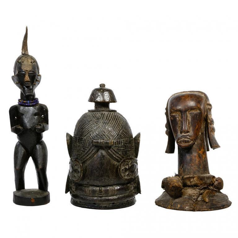 African Wood Carving Assortment