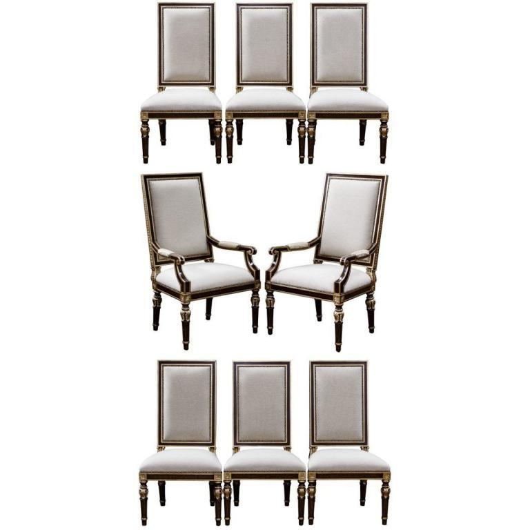 """Marge Carson """"Grand Traditions"""" Side Chairs"""