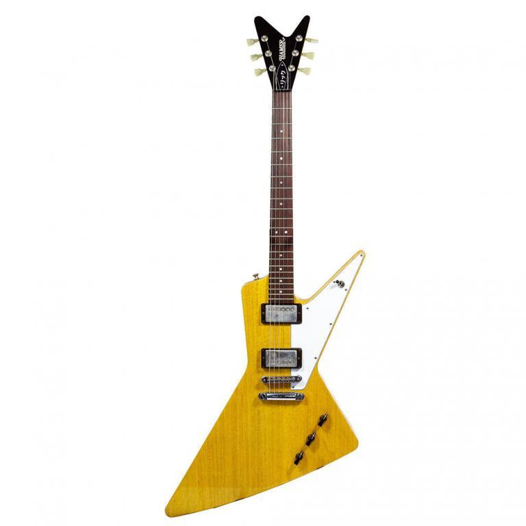 Hamer Rick Nielson Limited Edition Korina Explorer / Futura Guitar