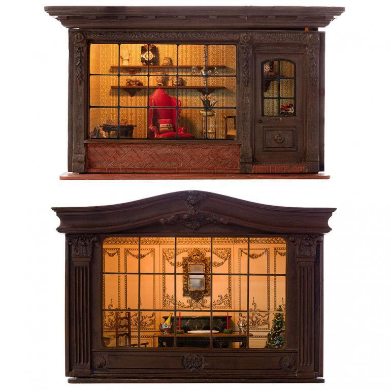 "Henry ""Hank"" Kupjack (American, 1952-2019) Miniature Rooms"