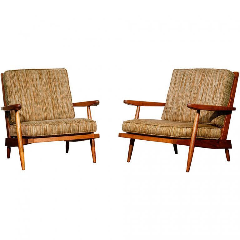 George Nakashima Cushion Chairs