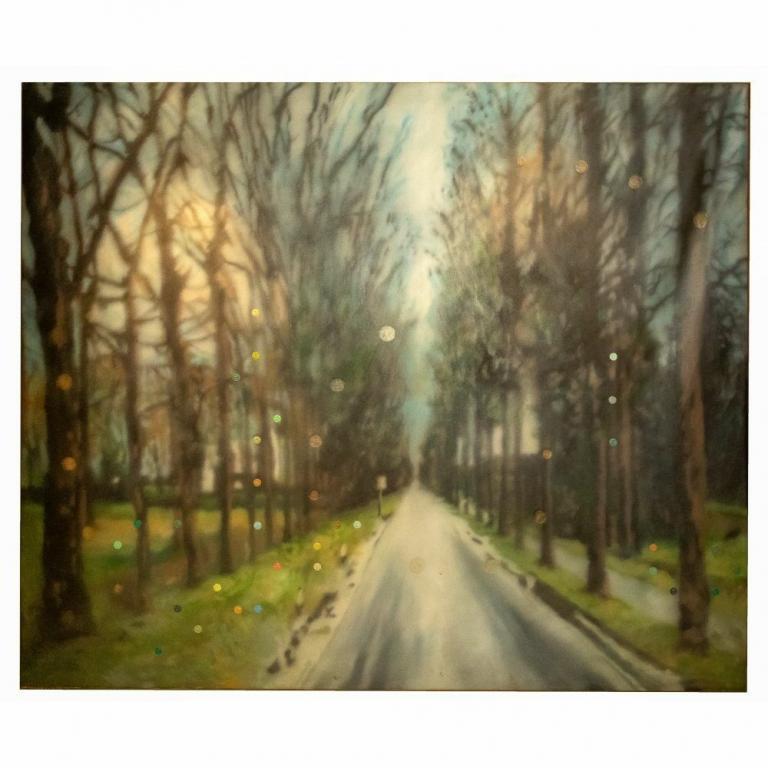 Raul Cordero Oil on Canvas 1