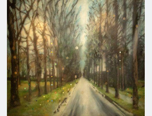 Raul Cordero Oil on Canvas
